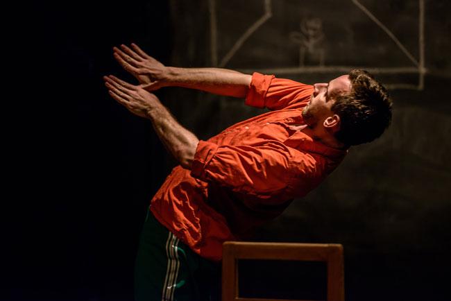 Diary of A Madman. Foto: Søren Mesiner Instruktion: Tim Rushton, Scongor Szabo (performance)
