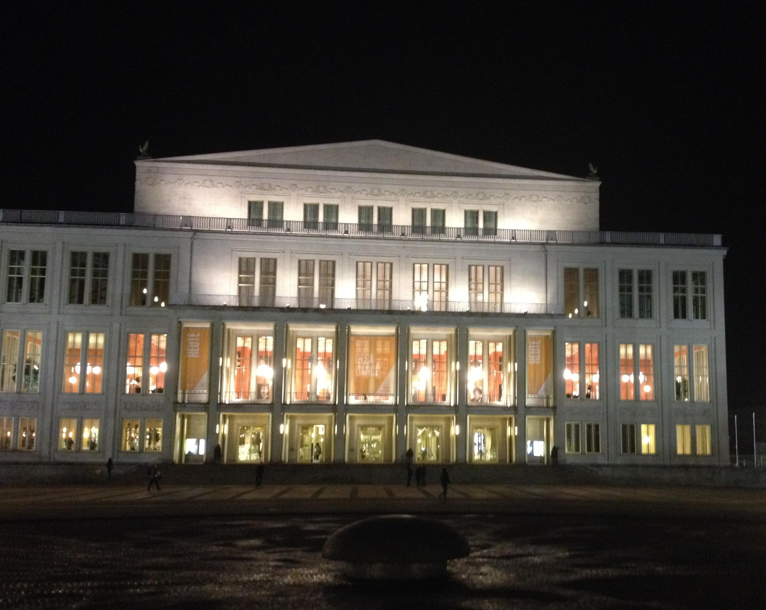 Oper Leipzig. Foto: Torben Kastrup